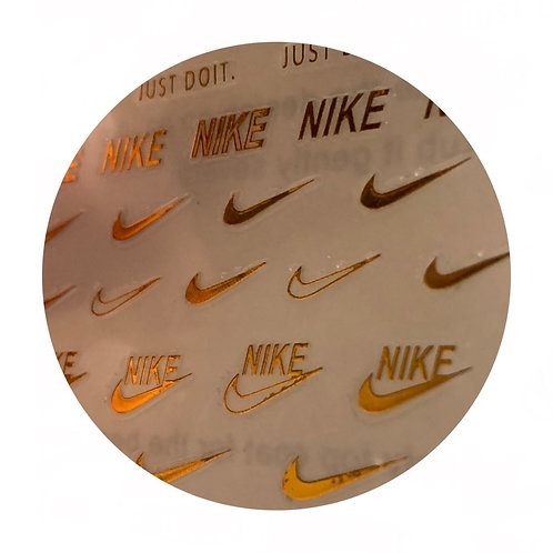 Nike Sticker : Gold
