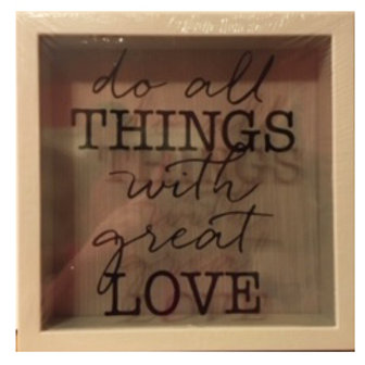 Do All Things with Great Love: 6x6