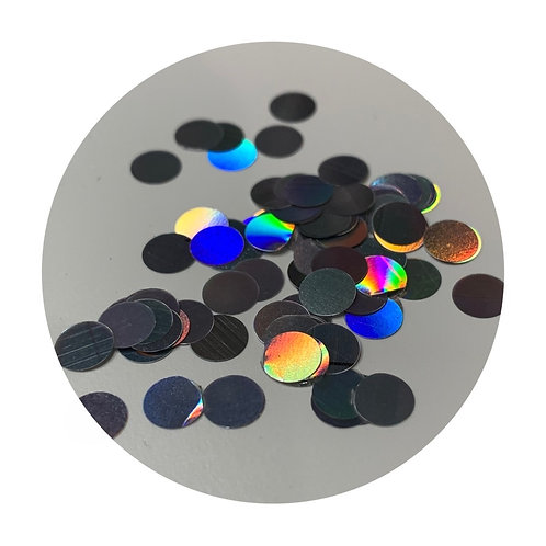 6mm Iridescent Circles