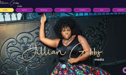 Jillian Gibbs Media Website & Logo designed for Jillian Gibbs Media | ...