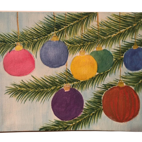 Christmas Decorations: 6x8""
