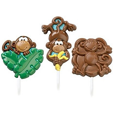 Chocolate Lollipops (Themed)