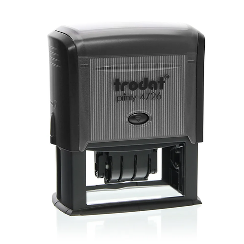 """Trodat 4726 (two colour stamp pad): 2 19/20"""" x 1 1/2"""""""