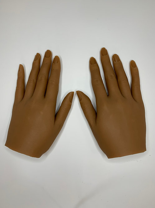 1 Silicone Life Like Practice Hand w/Hand Grip Stand