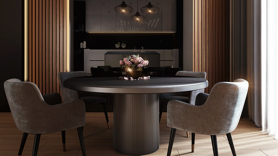 gray-dining-table-under-pendant-lamps-33