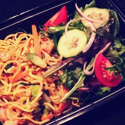 Shrimp Pasta Dinner