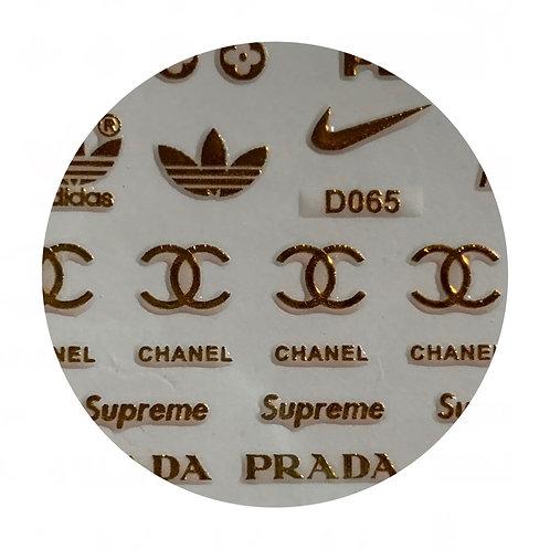 Sporty Posh Labels:Gold