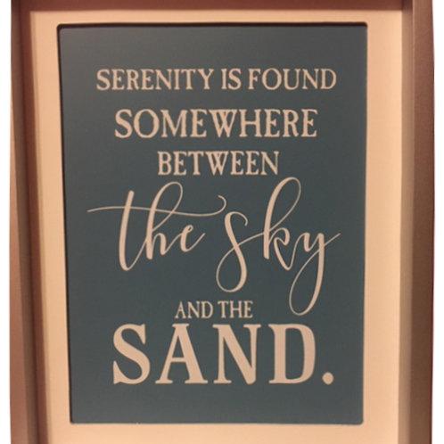"Serenity: 10 x 12"""