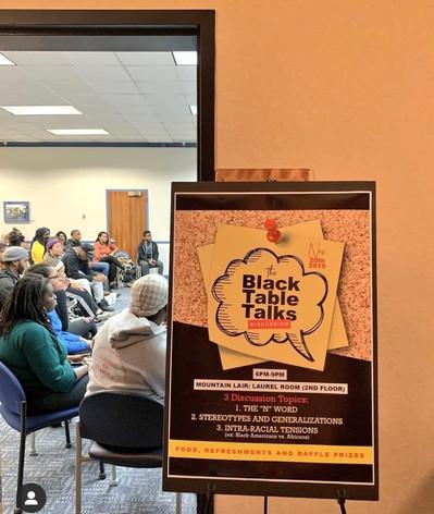 Black Table Talks Event