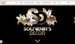 Souvenirs Decor At JC and BW we create websites that expresses som...
