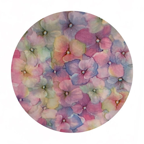 Transfer Pastel Flowers Art Paper