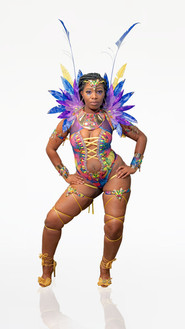 Miss Conservative monokini (with feather