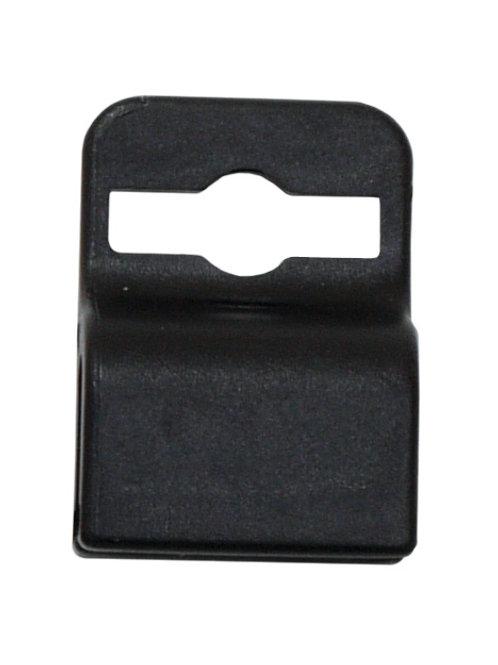 Badge Attachment, Black, Gripper 30 Card Clamp