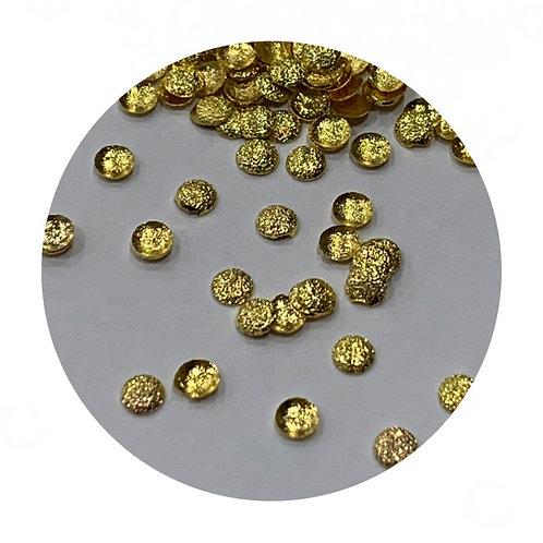 Matte Gold Circle