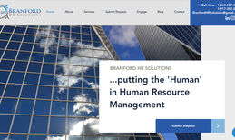 Branford HR Solutions This site is an example of a professional business...
