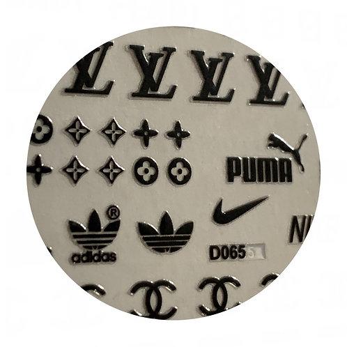 Sporty Posh Labels: Black
