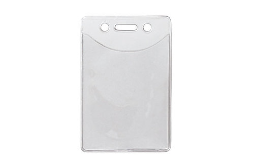 Badge Holder, Vertical, Vinyl, Credit Data Card Anti-Print Transfer Material