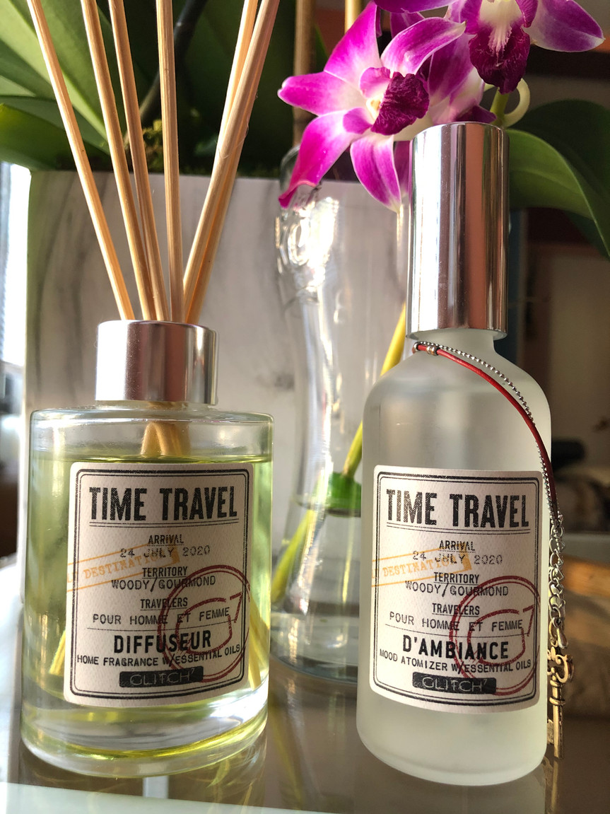Time Travel: Diffuseur & D'Ambiance