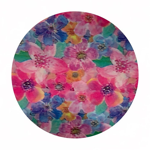 Transfer Flowers Art Paper