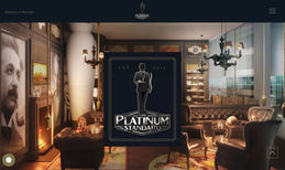 Platinum Standard Cigars This smooth and luxurious website was designed for...
