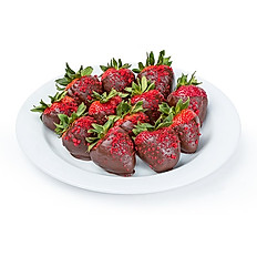 Red Velvet Chocolate Covered Strawberries