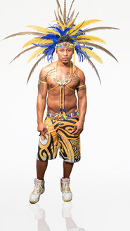 Male (with feathered headdresses upgrade