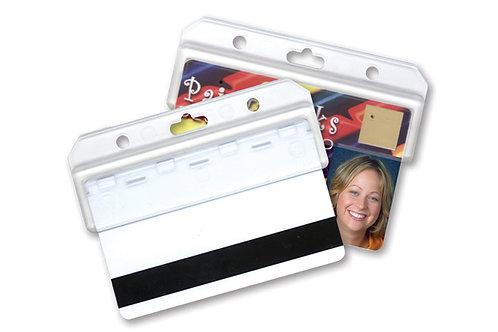 Badge Holder, Easy Access Card Holder (Half Card)