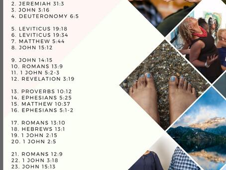 FEBRUARY Scripture Writing