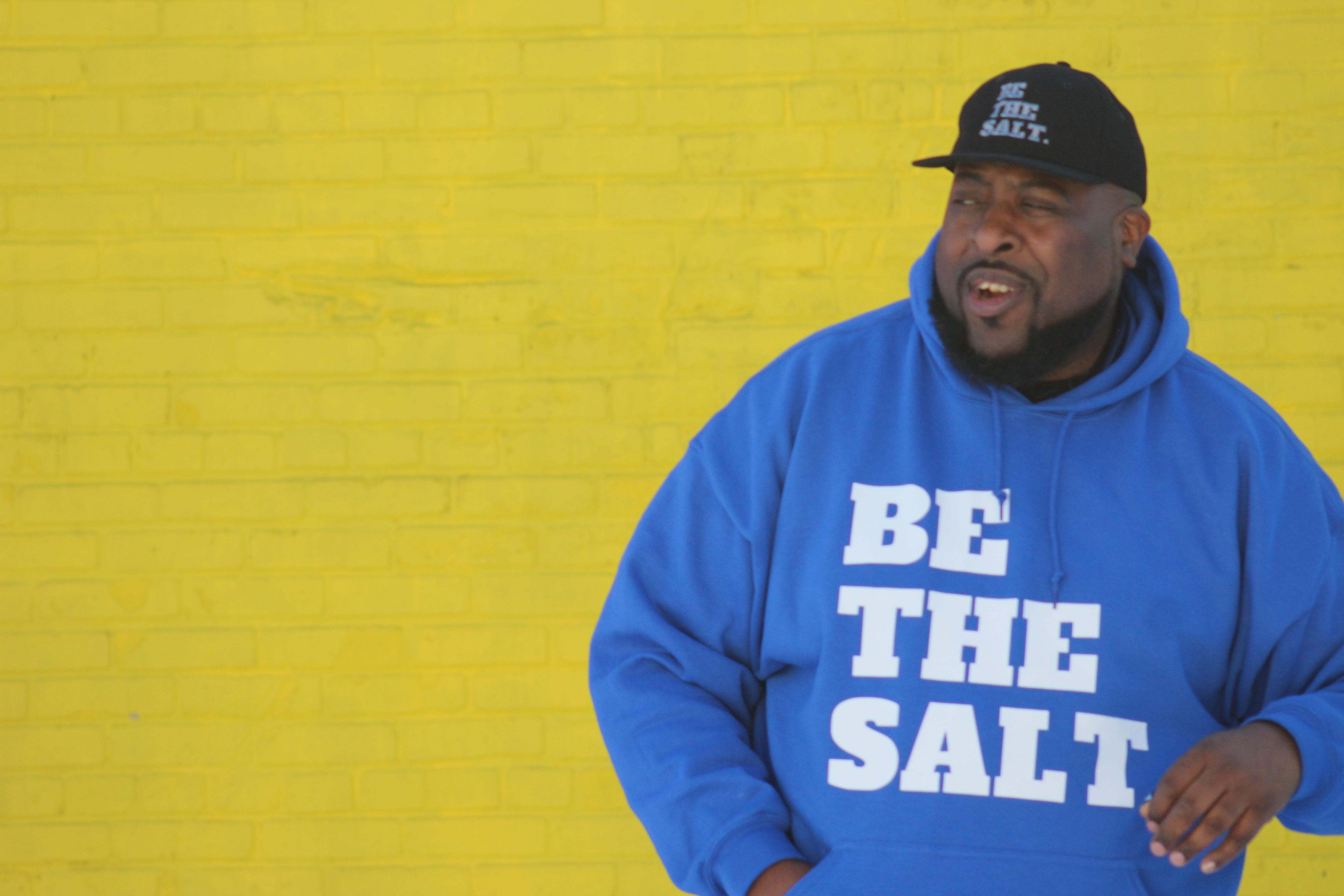 Be The Salt Hoodie $35 (YthS-4X)