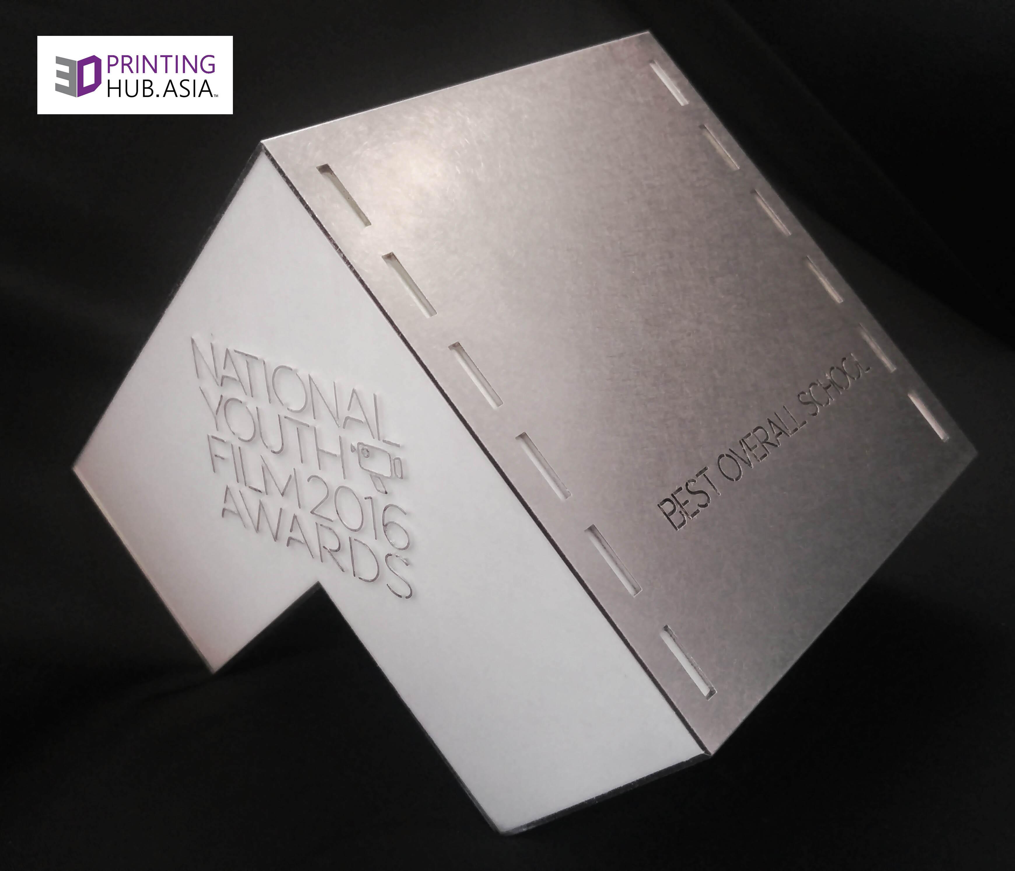 NYFA2016 Award by 3DPrintingHub.Asia