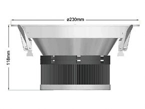 Max Down Light Product Dimension