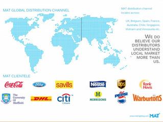 MAT distributors in 2014