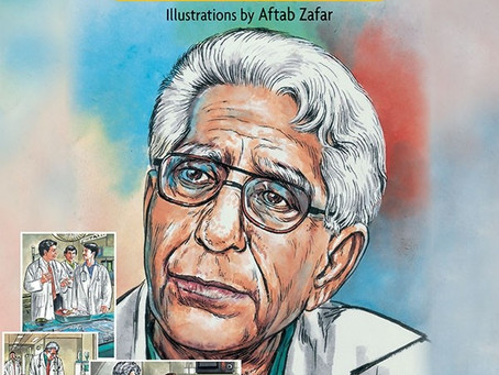 New Book Out - Graphic Story on Dr Adib Rizvi