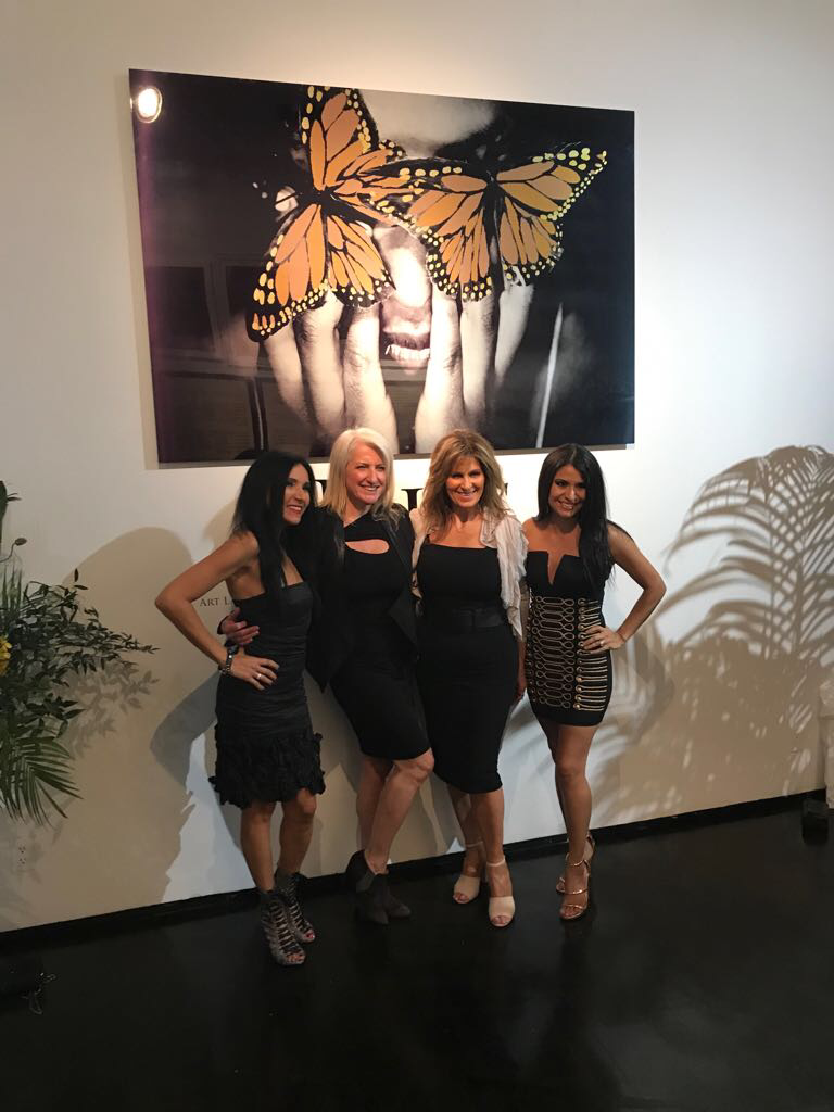 "M3 Life was a sponsor at ""Rise of The Butterfly"" an exhibition by activist and artist, Layla Love inspired by the iconic, Gloria Steinem."