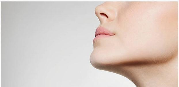 beautiful women's face and skin