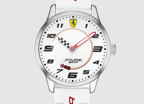 FERRARI Reloj de niño Ferrari 0860014 de silicona blanco