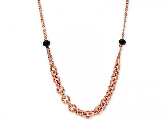 Collar plata y piedras naturales -LAF6120CL-R