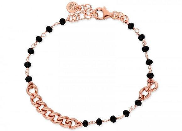 Pulsera plata rosa LAF6124BR-R
