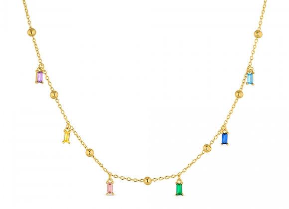 Gargantilla de plata chapado 5 micras Promojoya 9110900