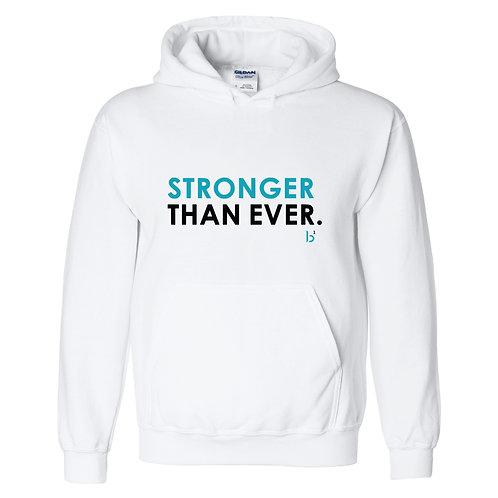 Stronger Hoody - White