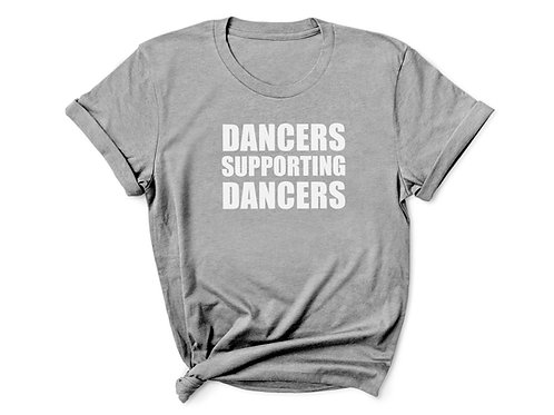 Youth - Dancers Supporting Dancers Tee - Grey