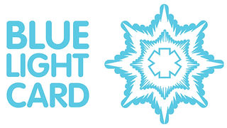 Blue light card promotion massage Chester