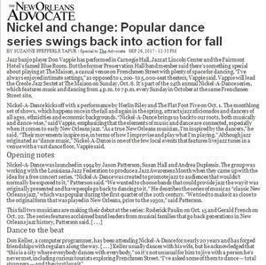 Nickel-A-Dance Fall 2017