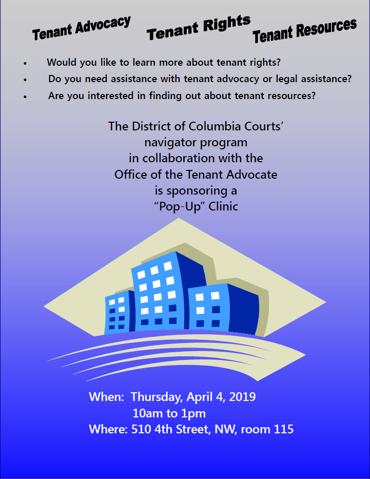 PopUp with Office of Tenant Advocate fly
