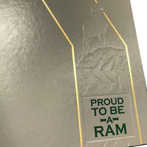 Foil and Blind Embossing