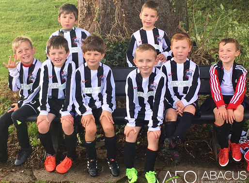 Abacus Financial Options are proud to sponsor Sherborne Youth Under 7s