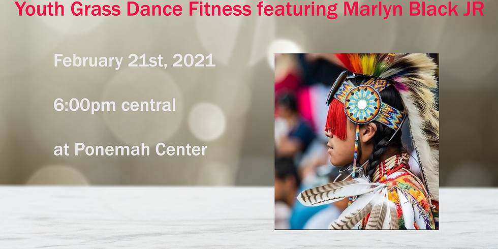Youth Grass Dance Fitness with Marlyn Black JR