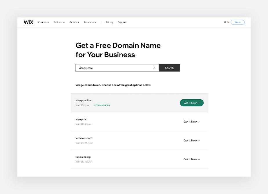 How to buy a domain name? Use a domain name search tool
