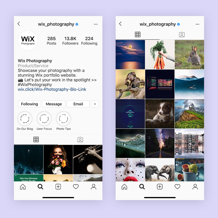promote your photography business on instagram