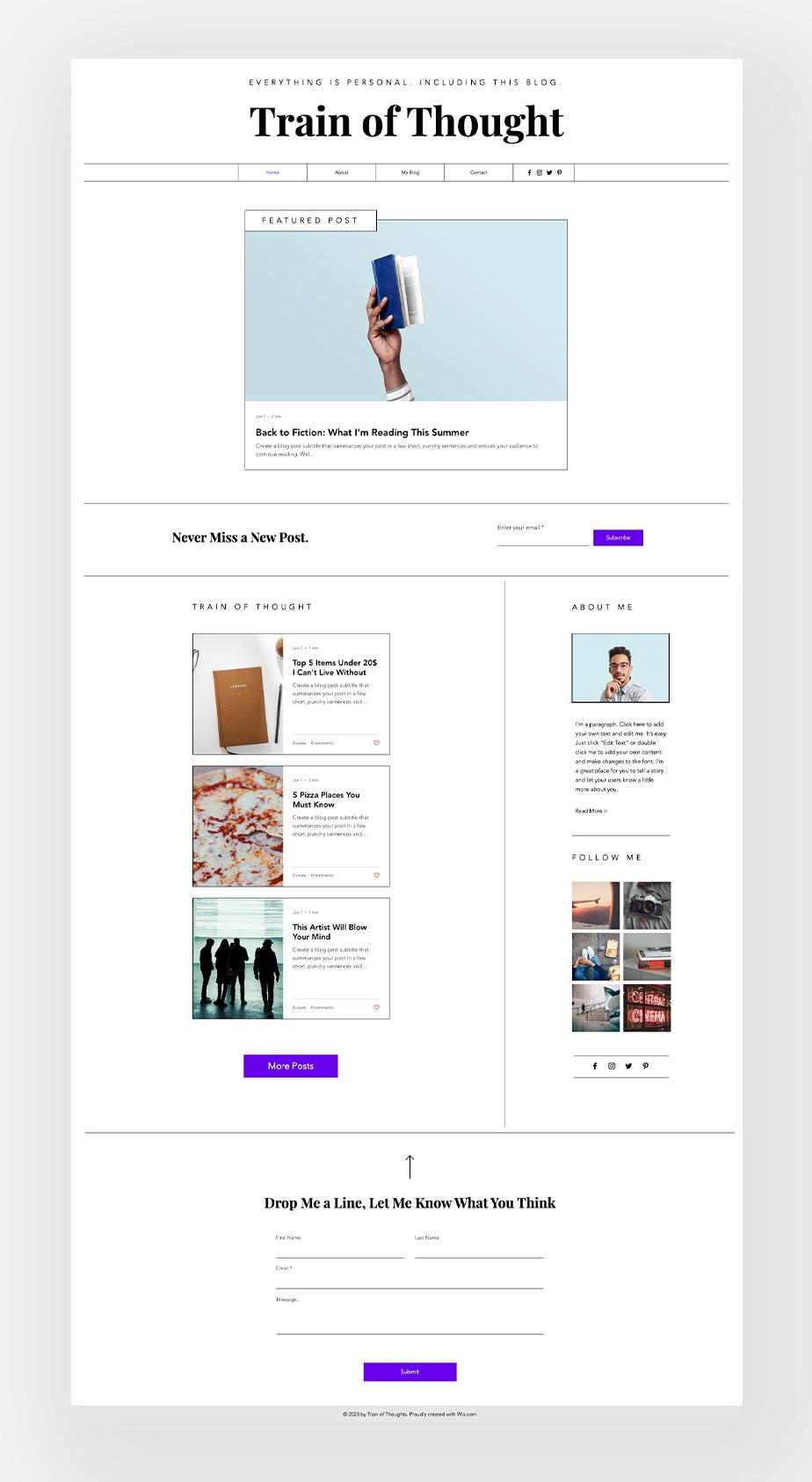 lifestyle blog niche ideas list